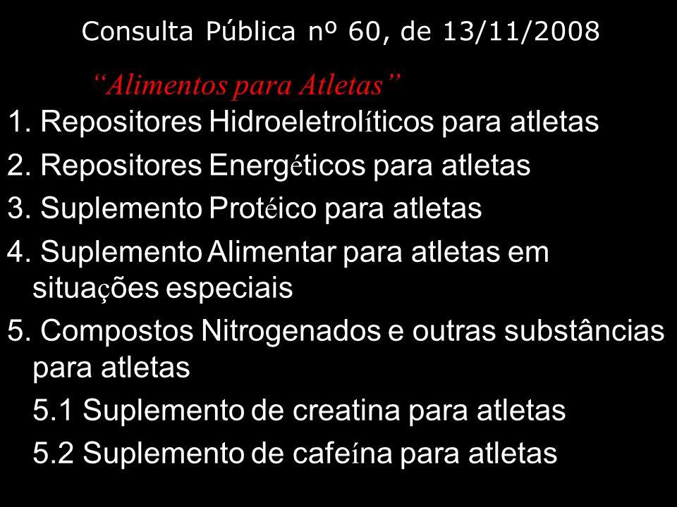 Consulta Pública nº 60, de 13/11/2008