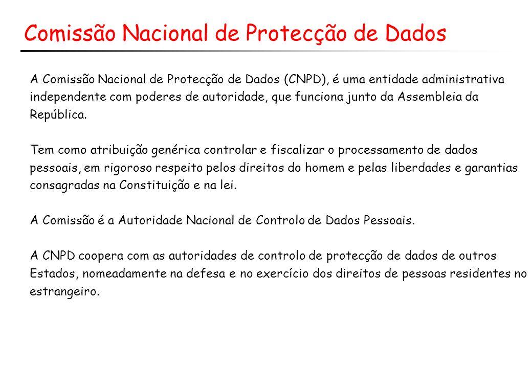 Comissão Nacional de Protecção de Dados