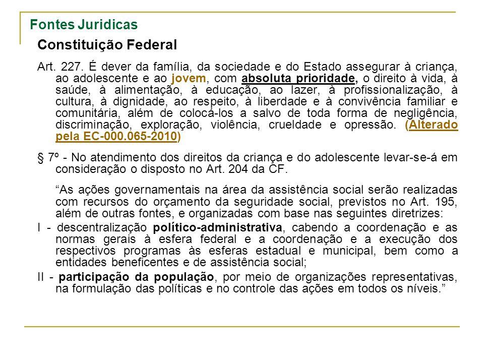 Constituição Federal Fontes Juridicas