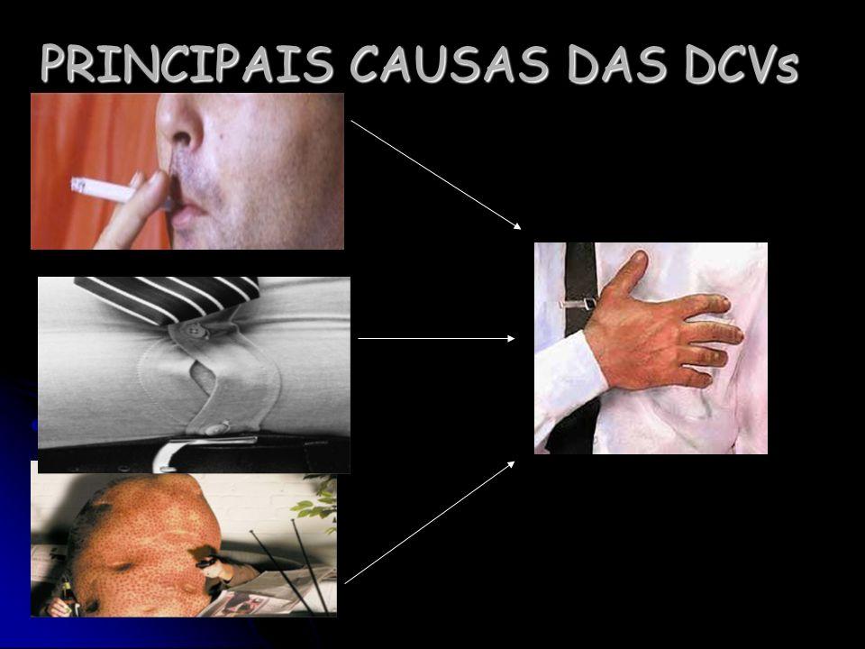 PRINCIPAIS CAUSAS DAS DCVs