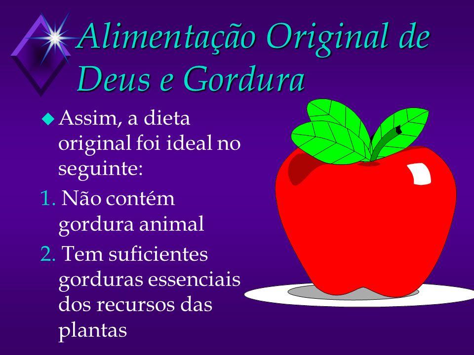 Alimentação Original de Deus e Gordura