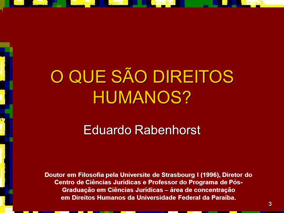 em Direitos Humanos da Universidade Federal da Paraíba.