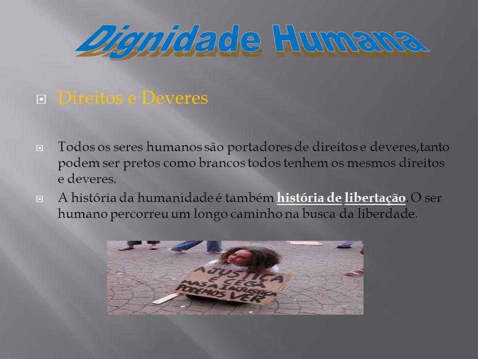 Dignidade Humana Direitos e Deveres