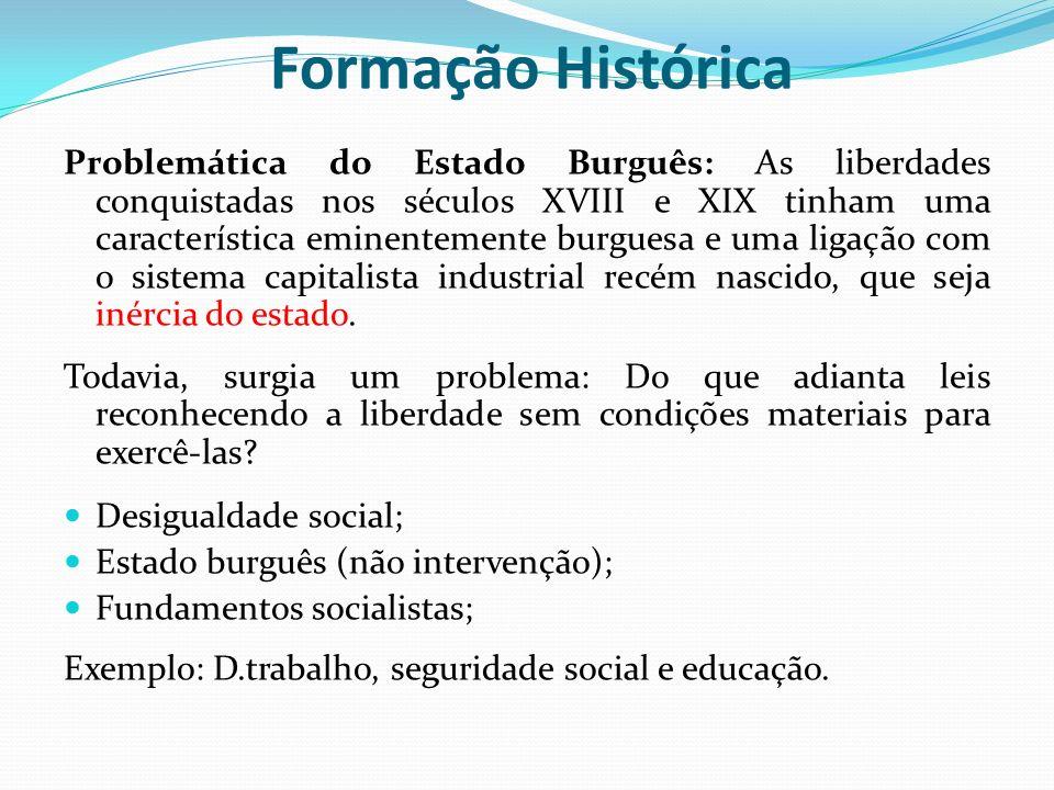 Formação Histórica