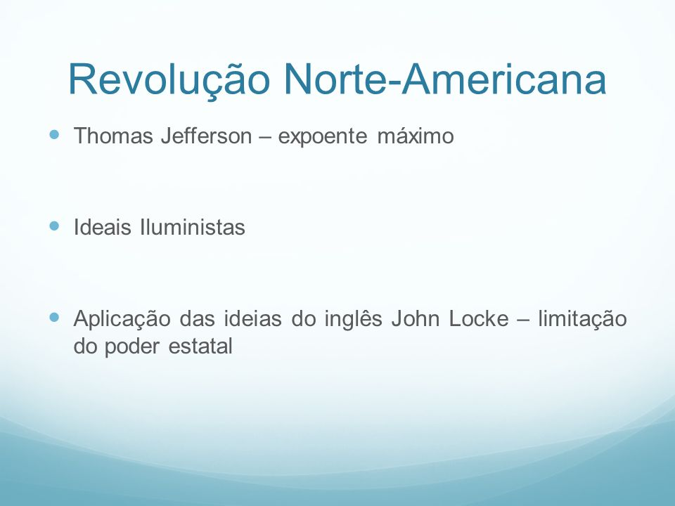 Revolução Norte-Americana