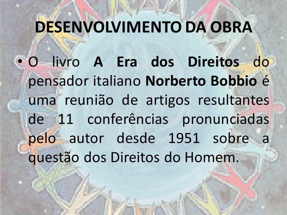DESENVOLVIMENTO DA OBRA