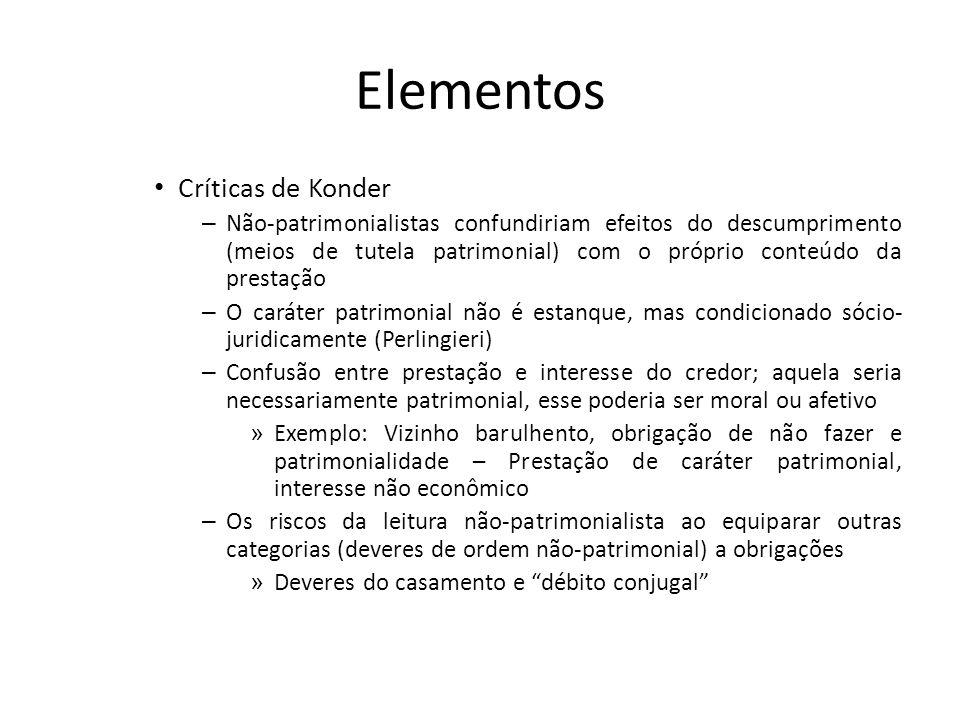Elementos Críticas de Konder