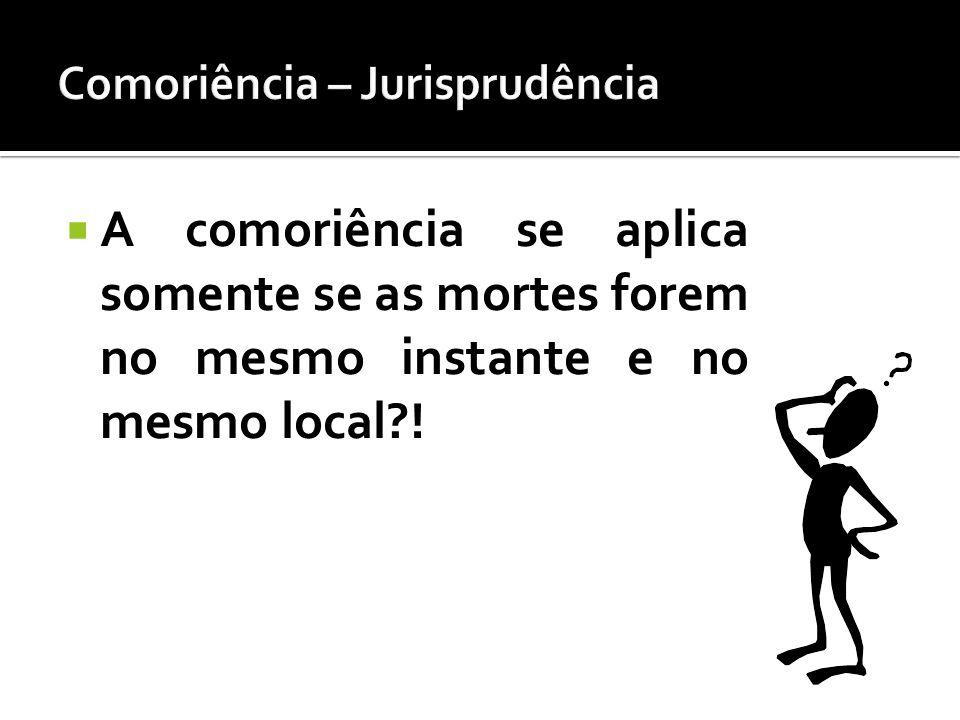 Comoriência – Jurisprudência