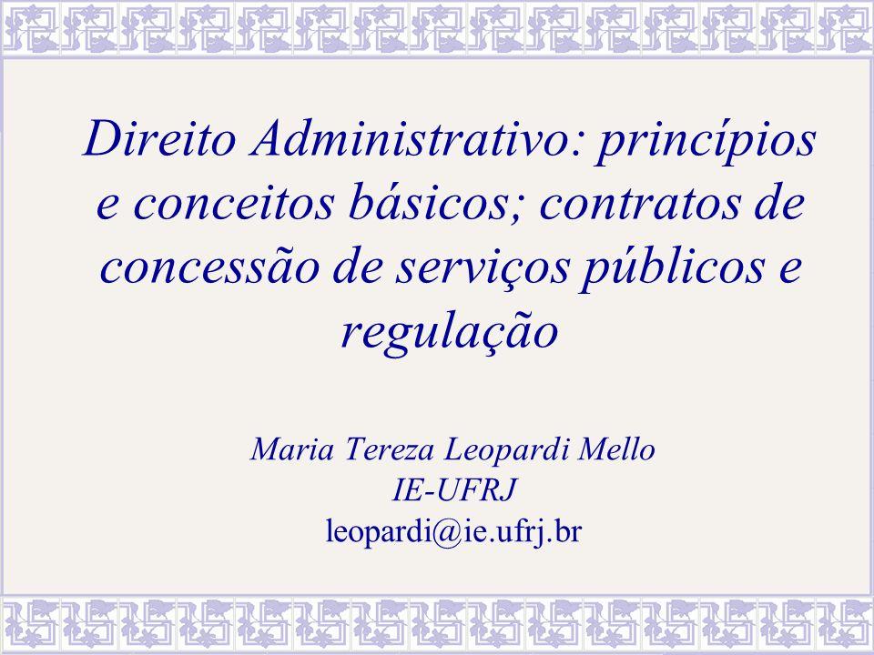 Maria Tereza Leopardi Mello IE-UFRJ leopardi@ie.ufrj.br