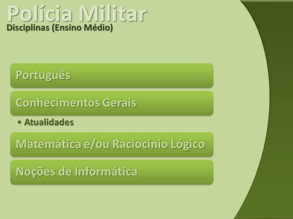 Polícia Militar Português Conhecimentos Gerais