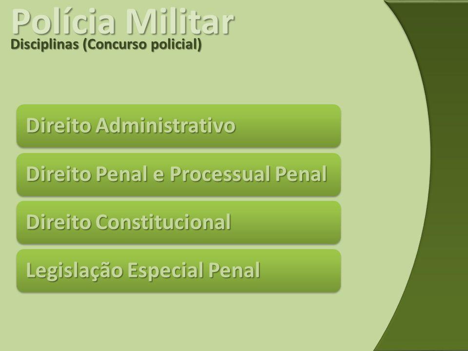 Polícia Militar Direito Administrativo