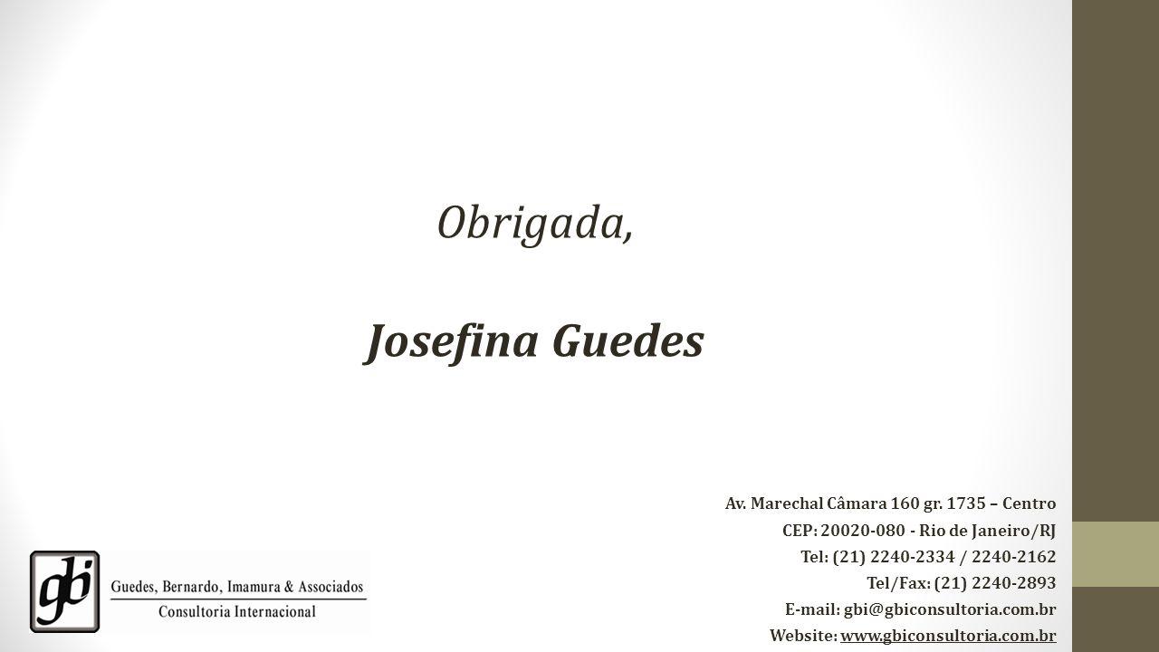 Obrigada, Josefina Guedes