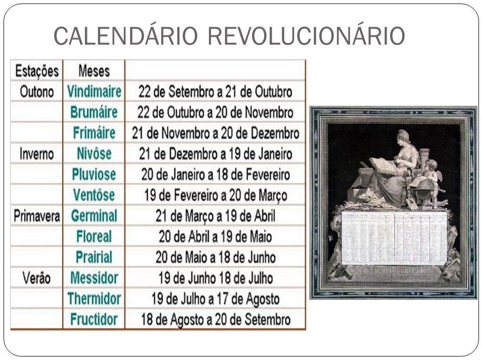 CALENDÁRIO REVOLUCIONÁRIO