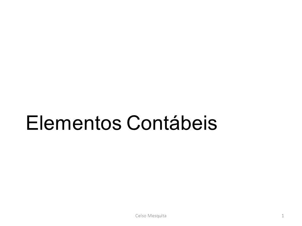 Elementos Contábeis Celso Mesquita Celso Mesquita