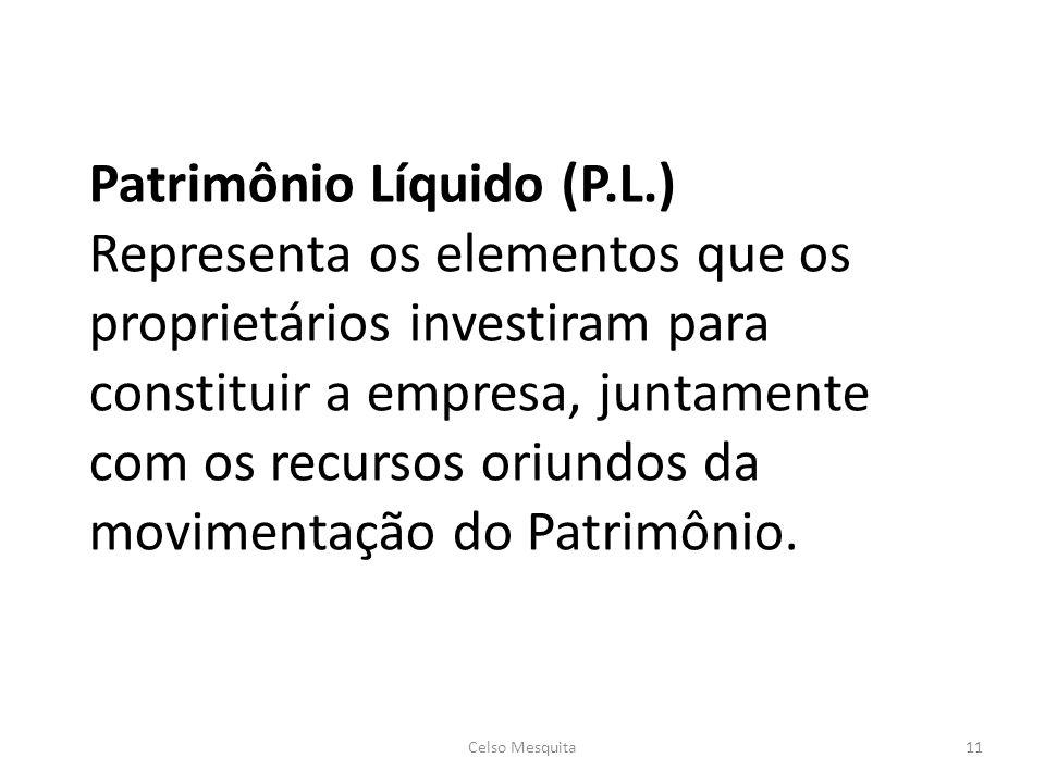Patrimônio Líquido (P. L