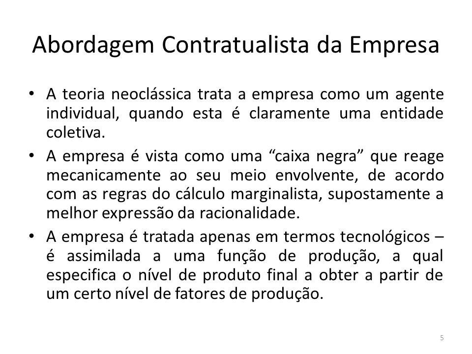Abordagem Contratualista da Empresa