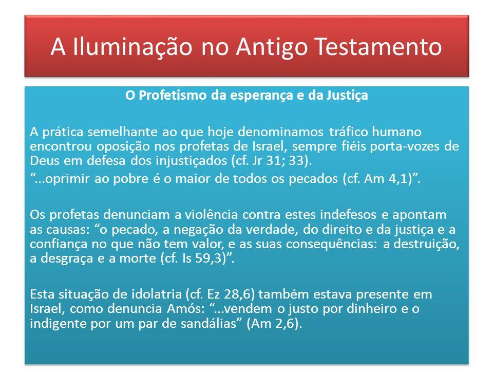 A Iluminação no Antigo Testamento