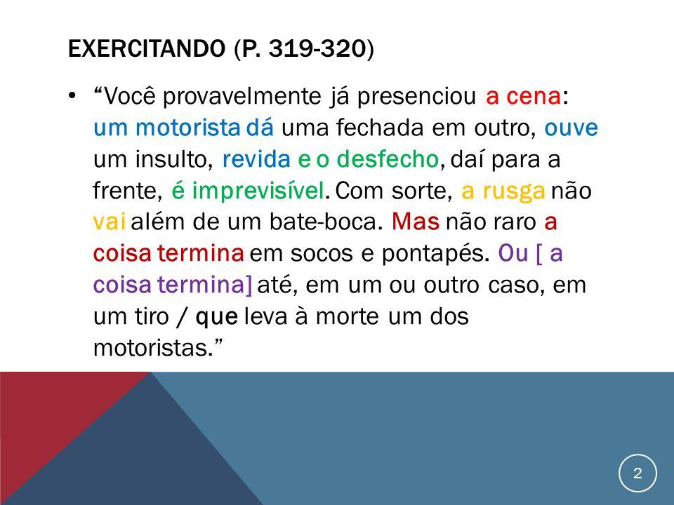 Exercitando (p. 319-320)