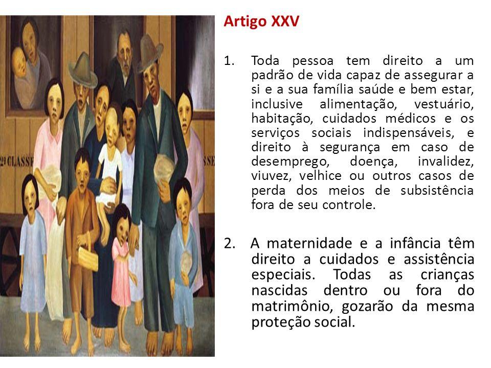 Artigo XXV