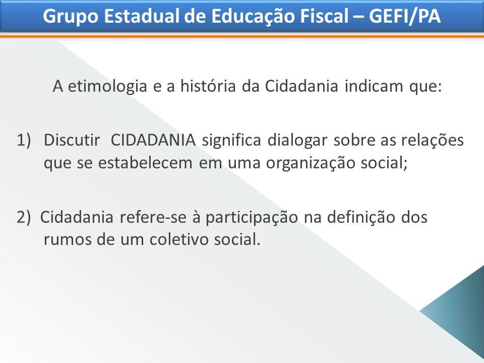 Grupo Estadual de Educação Fiscal