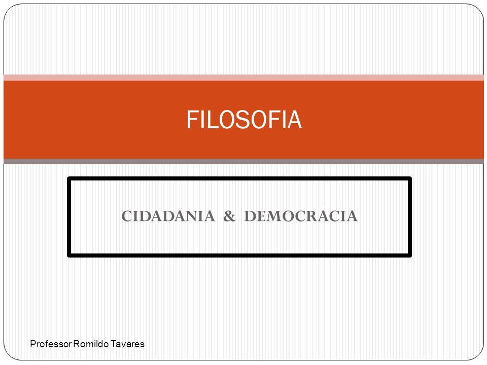 CIDADANIA & DEMOCRACIA