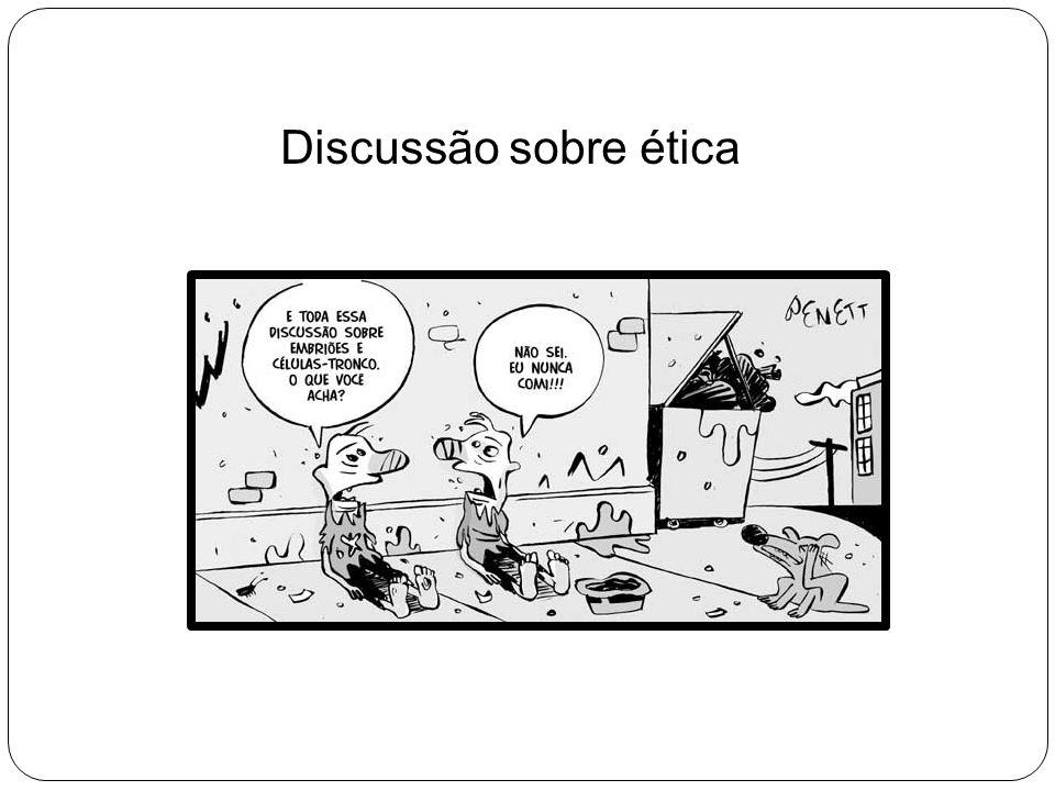 Discussão sobre ética