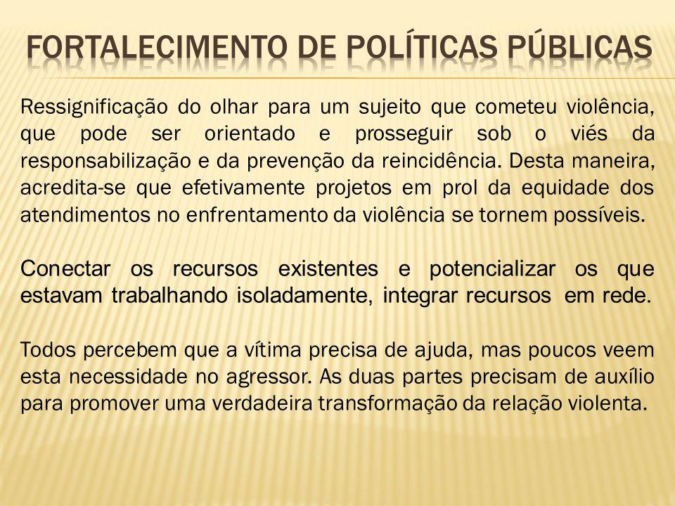Fortalecimento de políticas públicas