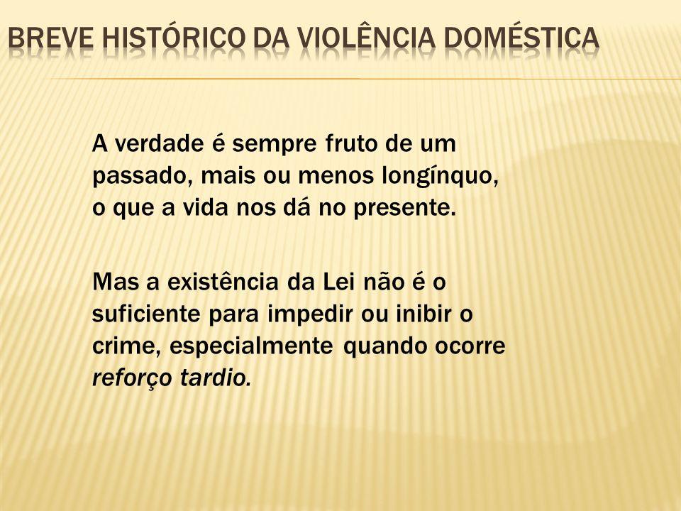 Breve histórico da violência doméstica