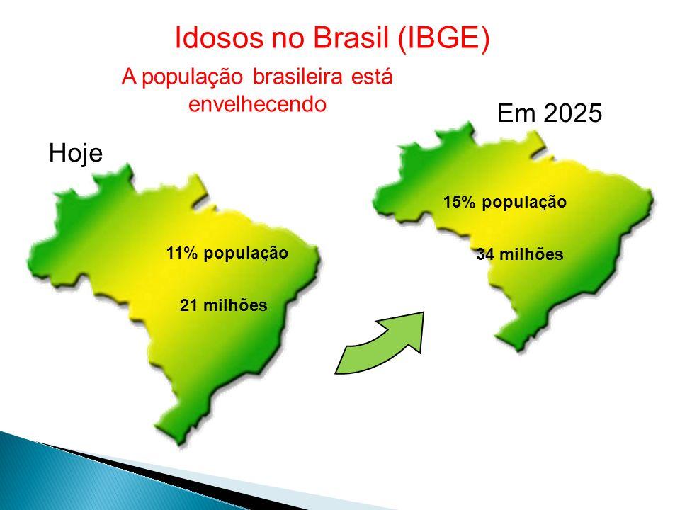 Idosos no Brasil (IBGE)