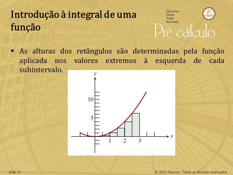 Introdução à integral de uma função