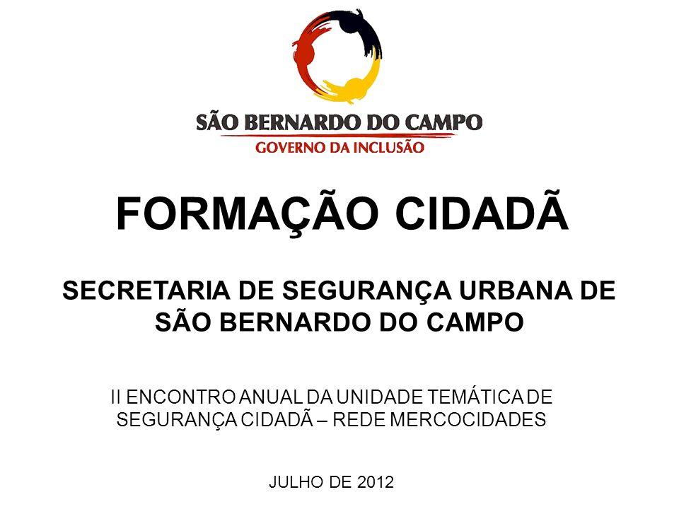 SECRETARIA DE SEGURANÇA URBANA DE SÃO BERNARDO DO CAMPO