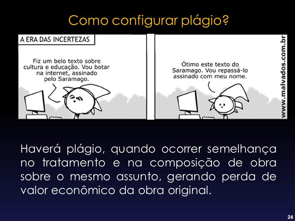 Como configurar plágio