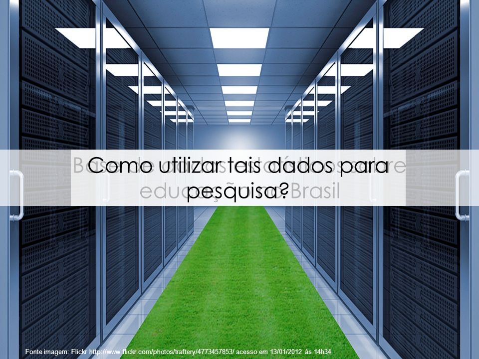 Base de dados estatísticos sobre educação no Brasil
