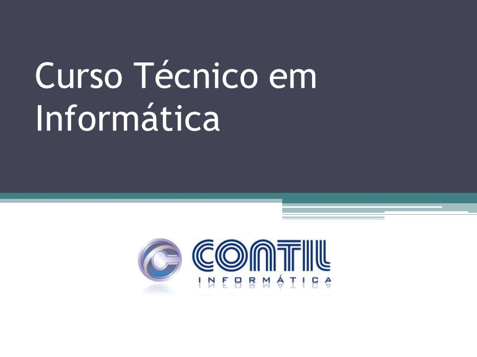 Curso Técnico em Informática