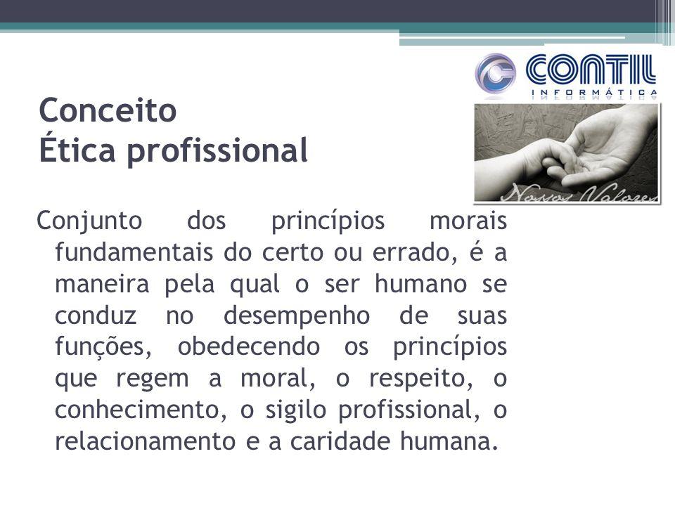 Conceito Ética profissional
