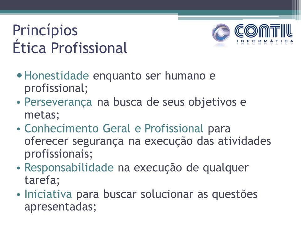 Princípios Ética Profissional