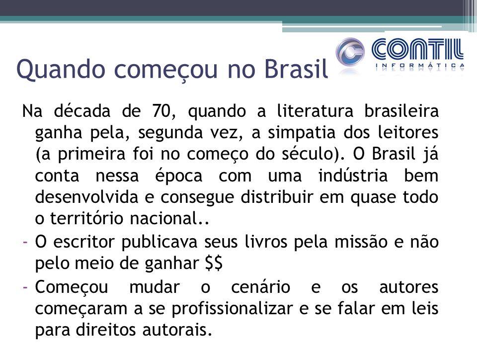 Quando começou no Brasil