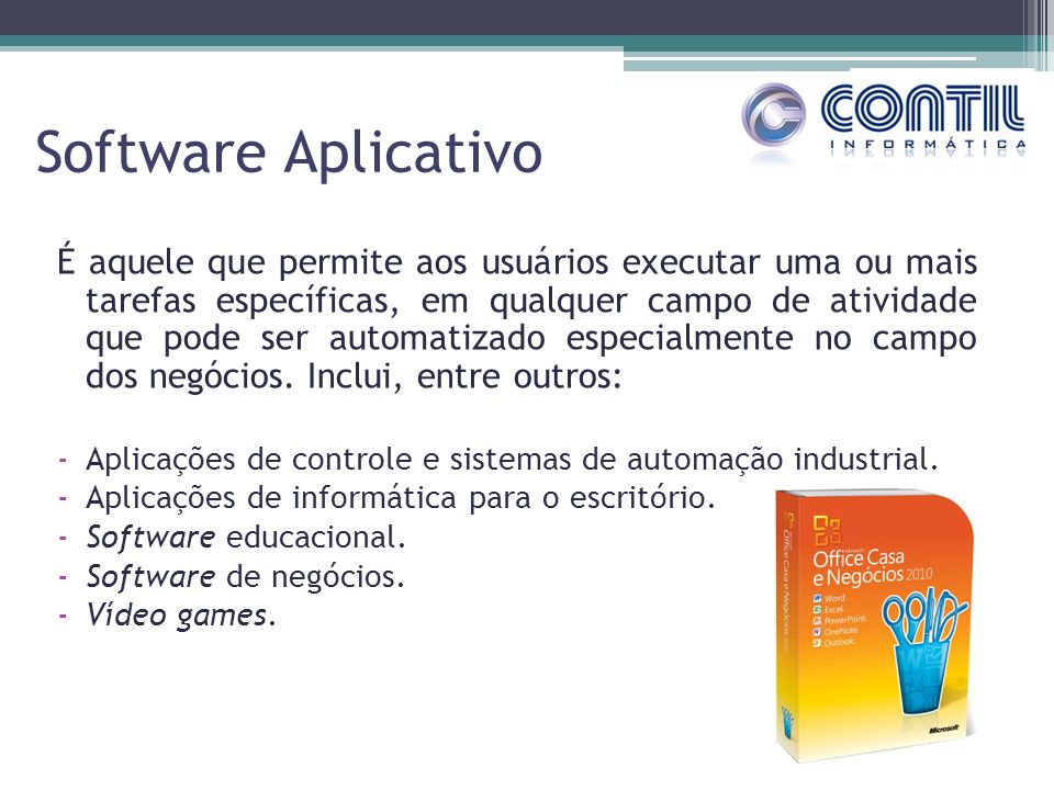 Software Aplicativo