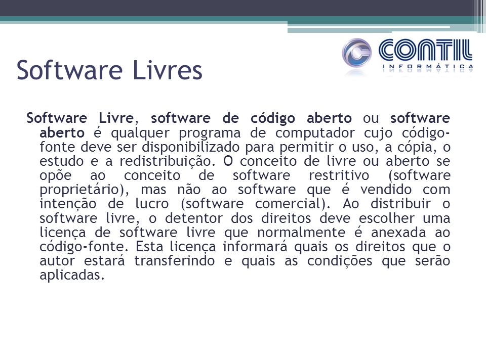 Software Livres