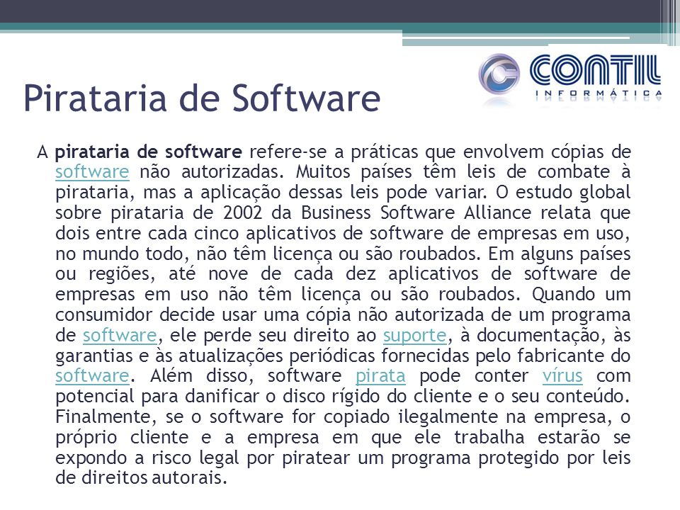 Pirataria de Software