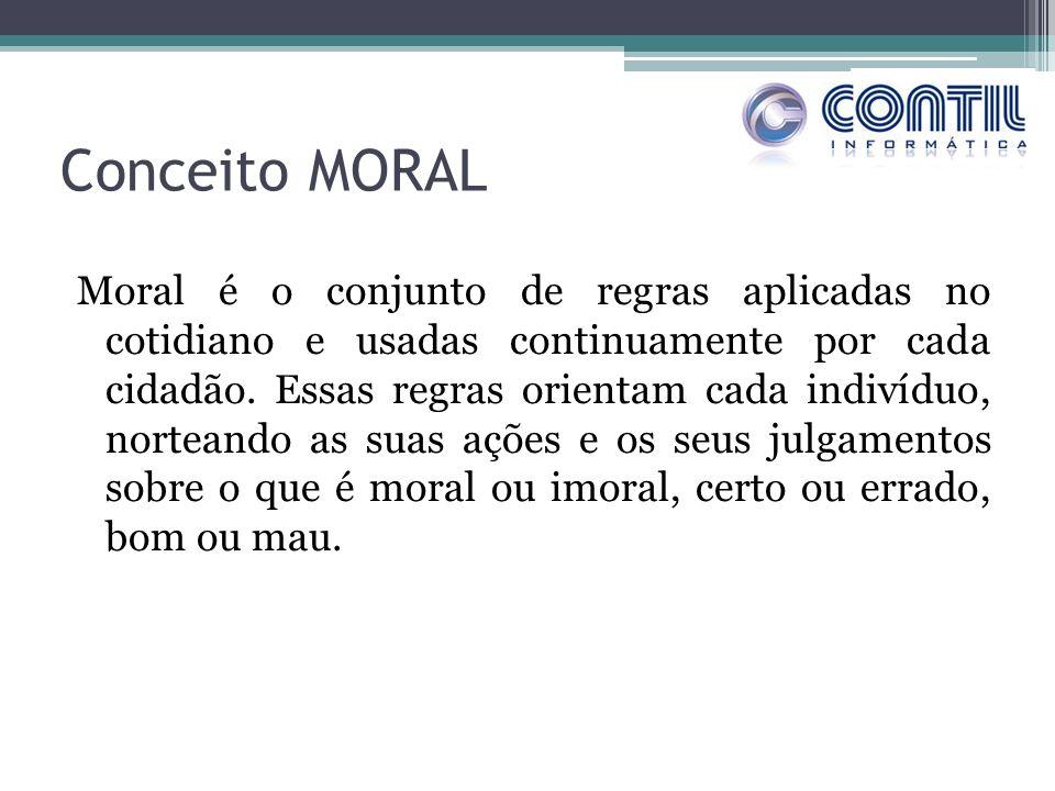Conceito MORAL