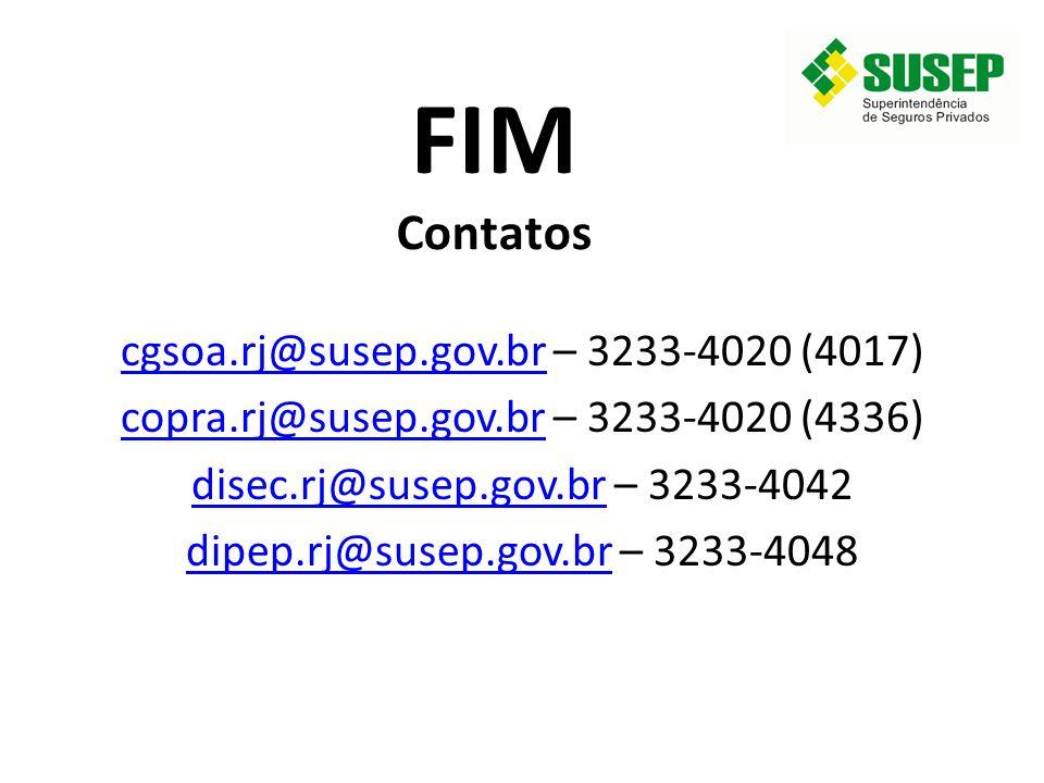 FIM Contatos