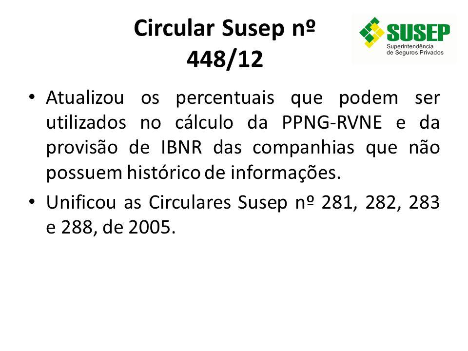 Circular Susep nº 448/12
