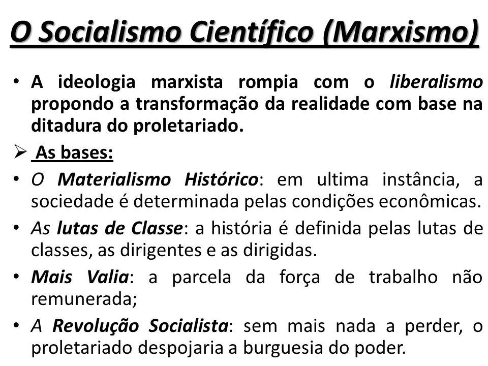 O Socialismo Científico (Marxismo)