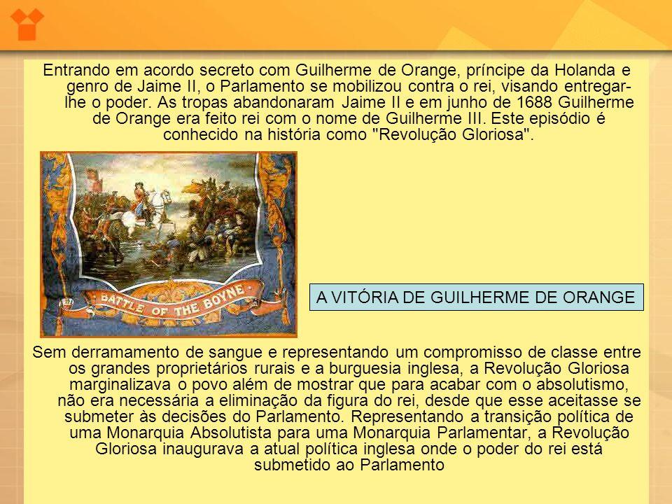 A VITÓRIA DE GUILHERME DE ORANGE