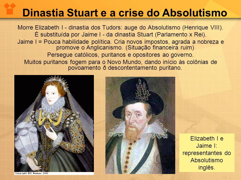 Dinastia Stuart e a crise do Absolutismo