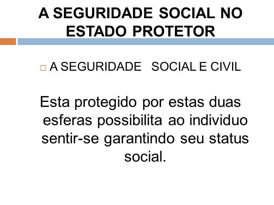 A SEGURIDADE SOCIAL NO ESTADO PROTETOR