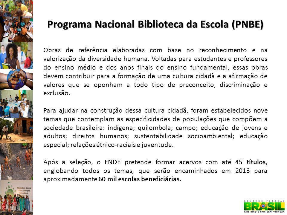 Programa Nacional Biblioteca da Escola (PNBE)