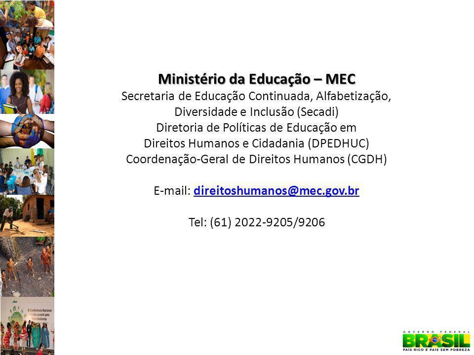 Ministério da Educação – MEC