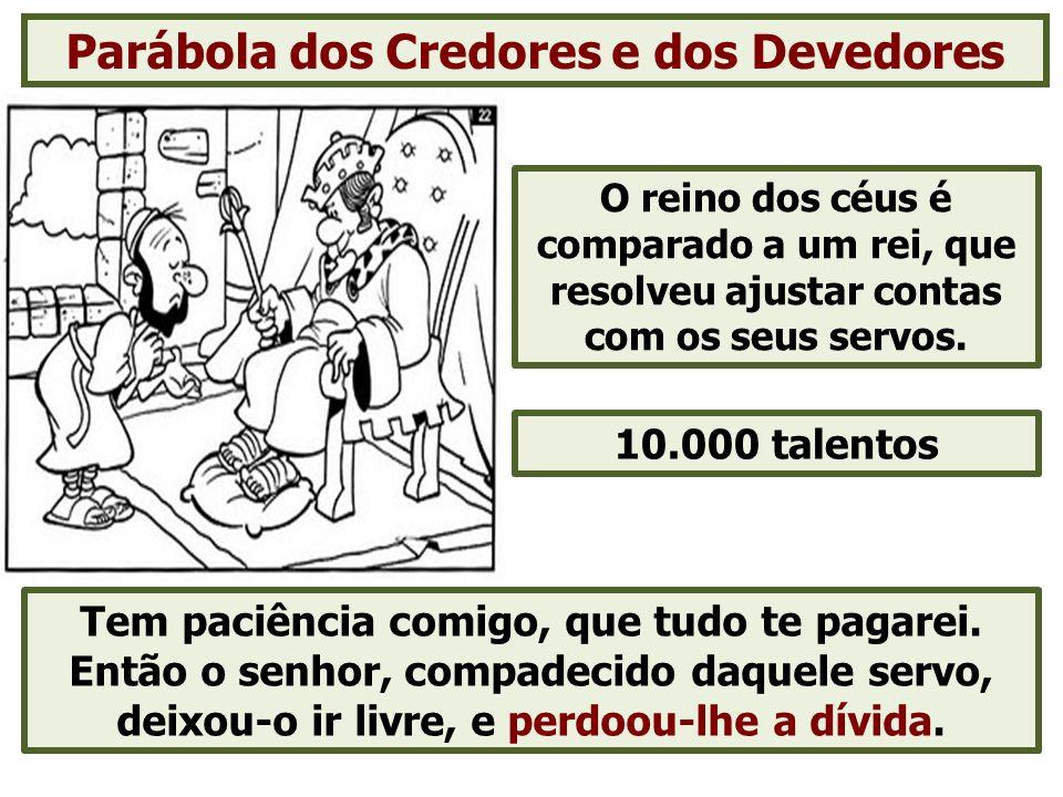 Parábola dos Credores e dos Devedores